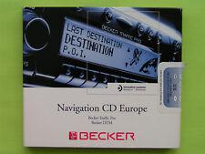 CD NAVIGATION BECKER TRAFFIC PRO DTM 9.0 MERCEDES BENZ BMW VW AUDI PORSCHE KIA