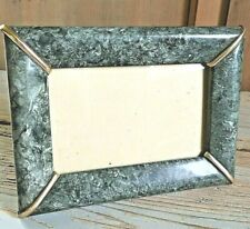 1940 CORNICE PORTAFOTO QUADRO CELLULOIDE madreperla vintage PHOTO FRAME grey