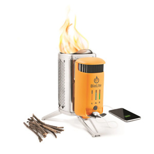 BioLite Solid Fuel Camp Stove 2+ Electricity Generator And Battery USB Charger