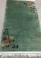 New listing Art Deco Chinese, An Awesome Art Deco Design 4'10� X 3'