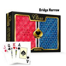 COPAG Plastic Playing Cards Bridge Size Jumbo Index Class Vanguard Free Gift