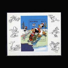 Redonda, D46, Mnh, 1984, S/S, Disney, Christmas, 11Fxcx