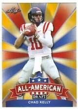 2017 Leaf Draft Football All-American Gold #AA-03 Chad Kelly