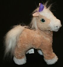 "FurReal Friends Butterscotch My Walkin Pony Pet Walking Plush Toy 10"" Hasbro"