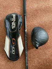 Ping G400 Driver, 9 degrees, Upgraded Hzrdus Smoke Shaft 6.0 Stiff, RH