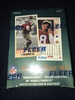 NFL FLEER GAMEDAY '93 - Official NFL Cards (FACTORY SEALED!!!)