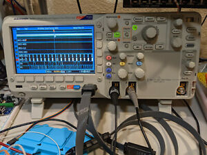 Tektronix oscilloscope MSO2012, gently used, includes certificate of calibration