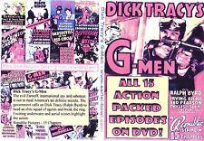 dick tracy s g-men Cliffhanger Chapter Serial