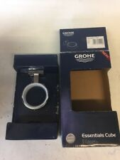 Grohe 40 508 1 Essentials Cube Wall Mounted Soap Dish