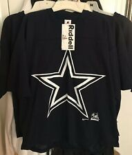1997 Riddell Dallas Cowboys T-shirt/Jersey NWT NEW Navy Blue 100% Polyester XL L