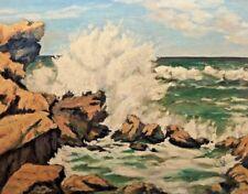 Painting by Artist Murphy Seascape, Carmel California, ocean, crashing waves