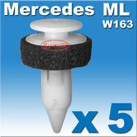 MERCEDES ML M CLASS DOOR CARD PANEL TRIM CLIPS W163 INTERIOR INNER FASTENERS