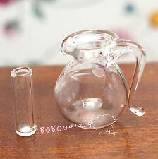 Dollhouse Miniature 1:12 Toy Kitchen Dining Room A Glass Pot Jar H2cm SPO086