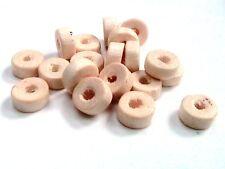 15g x 8 mm crème en bois rondelle perle Espaceur Perles Approx 150 Perles e152