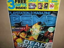 PSM3 PS3 Playstation 3 Feb 11 Dead Space 2 + DVD POSTER
