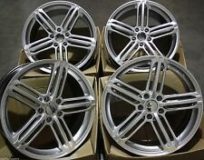 "19"" ALLOY WHEELS FITS AUDI A5 S5 A6 S6 A7 A8 S8 VW PHAETON RS 6B SILVER"