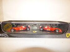 Hot Wheels Ferrari 2001 F1 Constructors Champions Set Schumacher & Barrichello