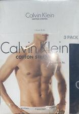 Calvin Klein Men's Cotton Stretch Multipack Boxer Briefs, Black, Size X-Large
