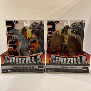 Playmates Godzilla RODAN(1956) and GOROSAURUS(1968) Action Figure Lot of 2 NEW!