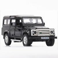 1:36 Defender SUV Die Cast Modellauto Auto Spielzeug Model Sammlung Schwarz