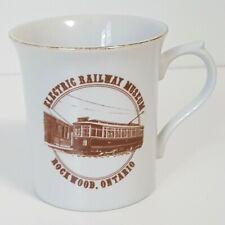Electric Railway Museum Coffee Mug Streetcars