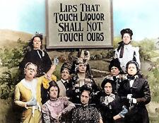 Lips That Touch Liquor, Prohibition Vintage Photo 8.5