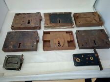 A Collection of Large Antique Door Locks