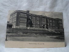 St. Louis Mo Missouri Teachers College early 1900's Postcard