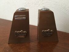 SAN FRANCISCO GOLDEN GATE BRIDGE WOODEN SALT & PEPPER SHAKERS JAPAN