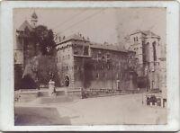 Ville A Identificare Francia Vintage Aristotipia Verso 1900