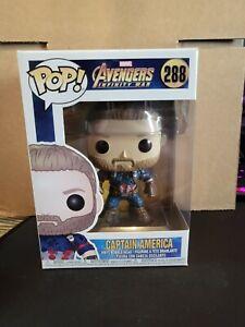 Funko Pop! Marvel: Avengers: Infinity War - Captain America