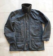 Made in England Barbour Bedale wax Jacket s navy blue 38 medium Beaufort ashby