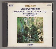 *** Mozart _ Salzburg Symphonies (K.136, K.137 & K.138) ** Album CD audio - 1987