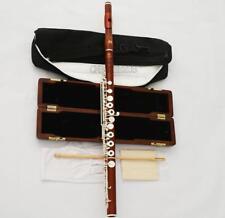 Professional Grenadilla Rose Wooden C# Trill Flute B Foot European Headjoint NEW