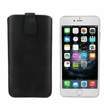 NEW PU Leather Pull Tab Pouch Bag Pocket Case Cover For Apple iPhone 6 Plus