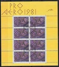 Zwitserland gestempeld 1981 Sheet 1196 - Pro Airo (XG044)