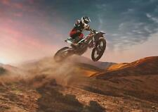 A5 A4 A3 A2 A1 HUGE Sizes Motocross Dirt Motorbike Giant Poster