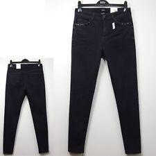 per Una Roma Rise SKINNY Leg Jeans Size 14 Regular Dark Grey