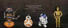 Disney Exclusive Star Wars: Galaxy?s Edge Droid Depot Black Series 6? Set HOT!!!