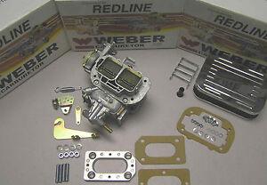 Weber 38/38 Performance conversion kit fits Toyota Coroilla Starlet 3KC
