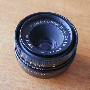 Objectif Carl Zeiss Jena DDR Tessar 50mm f2.8
