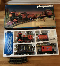 PLAYMOBIL 4033 Western Passenger Train Transformer G Scale Steaming Mary Works