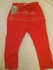 Zara Girls Harem Trousers Pants 18-24 Months