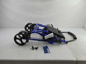 Drive Medical 795B - Rolling Walker with Seat, Blue