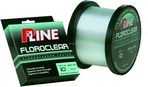 P-Line Floroclear Fluorocarbon Coated Fishing Line 10lb 300yd Clear FCCF-10