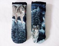 Wolves Pattern Pot Handle Holder-Set of 2 Handmade-Pizazz Creations