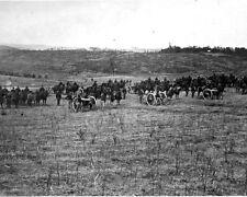 New 8x10 Civil War Photo: Battery of 32 Pounders at Fredericksburg, Virginia