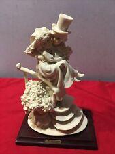 "Giuseppe Armani ""Little Bride And Groom On Stairs"" Figurine 1988 Retired"