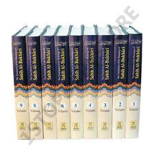 SAHIH AL BUKHARI VOLUME 1-9 DARUSSALAM DR MOHSIN KHAN Islam English / Arabic