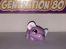 Littlest PetShop SOURIS VIOLET ROSE 1101 D034 MOUSE Pet Shop